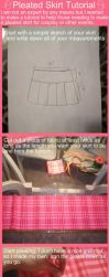 Pleated School Skirt Tutorial by OhThePlushabilities