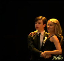 Glee: Kurt and Quinn- Hello by SkyeWall
