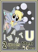 Support Derpy Hooves Poster by Troxist