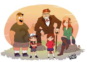 Gravity Falls by Texic