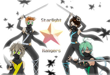 [SIA] STARLIGHT RANGERS by SparkleChord