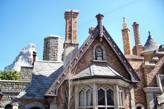 Disneyland Architecture2 by Royce-Barber