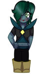 (Another) Emerald - Gemsona [REQUEST] by melonbunniii