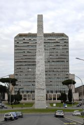 The obelisk in the EUR district in Rome by Book-Art