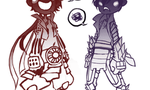 Basara Babies (limited animation) by TwitchyRitchie