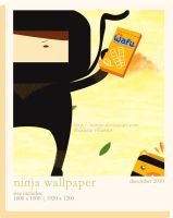 NINJA WALLPAPERPACK-notanymore by winRie