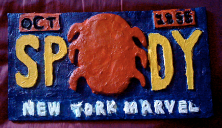 Spidey Plate by Captain34