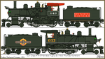 Oceanic Railways Class 'C3' 4-4-0, Ex-New Florida  by Lapeer