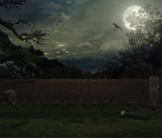 Premade background March-2016 by anulubi