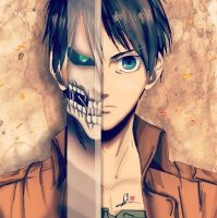 Attack On Titan - Eren Jaegar by WilliamTin