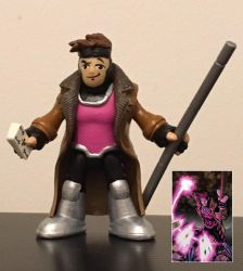 Marvel Commissioned custom (Gambit) by 2count