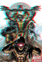 Astonishing X-Men 3D Anaglyph 2 by xmancyclops