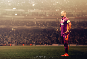 Sneijder by dreamgraphicss