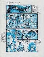 IDW TMNT One Page Fourteen by Kevineastman