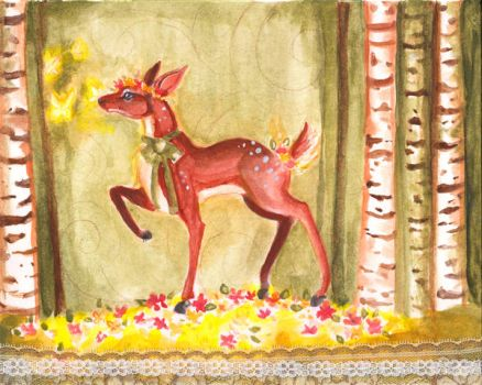 The Forest Fawn by RowanNorth