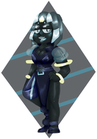 [G] Black Tourmaline by evillovebunny500