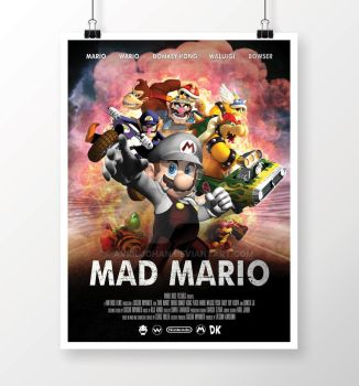 Mad Mario by avriljohan