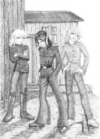 Young Rascals pencil by Katze-North