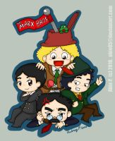 The Four Marx Brothers by Abie05