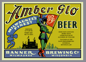 Amber Glo Beer by Vaiktorizer