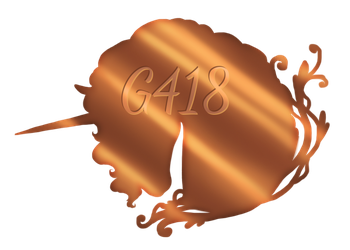 G418 Plaque by BU-MP