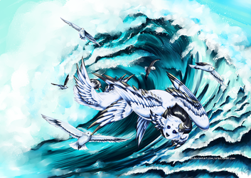 Race the Waves by Kirsui