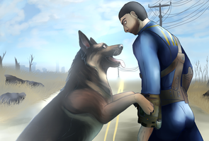 Because Fallout 4 by Paramanos