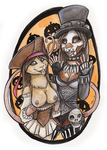 Halloween Couple - I'll prove it! by shiverz