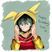Happy Birthday Izuku! by Bluechui