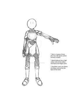 New armor concept - Iron Flower by Ashen-Phoenix