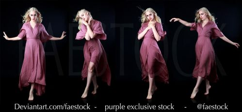 Purple Exclusive stock pack by faestock