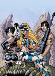 EMPOWERED 2 cover, colored by AdamWarren