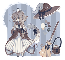 ~Cat Witch Adopt~ ( Auction - Closed ) by LunarAdopts