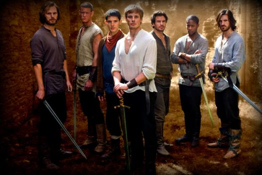 The EPIC Men of Camelot by kirstenalicia