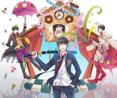 Ao no exorcist - 3 brothers by jaerika
