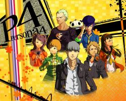 Persona 4 by Diamond4444