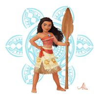 Moana Commission by Pulce90