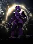 Tali'Zorah on Rannoch by IceDragonCosplay