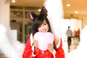 League of legends - Ahri by hatechuu