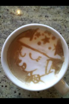 The Great and Powerful Trixie latte by CappuccinoFrosting