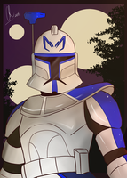 Captain Rex by Chyche