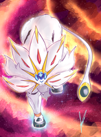 Solgaleo by Psi-Stardust
