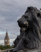 Lion and Big Ben by sequential