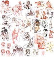.:: Sketchdump Little People 10 ::. by Maiwenn
