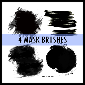 PACK MASK BRUSHES 1 by makokimakoki