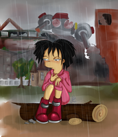 Don't Cry Amy_background by MissFuturama