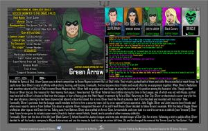 Oracle Files - Green Arrow by Roysovitch