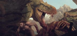 Give up the game to Pseudosaurus by RussellMarks
