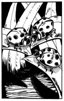 lil lady bugs :3 by TheInsaneDingo
