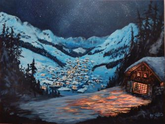 Mountain Valley Christmas by cliford417